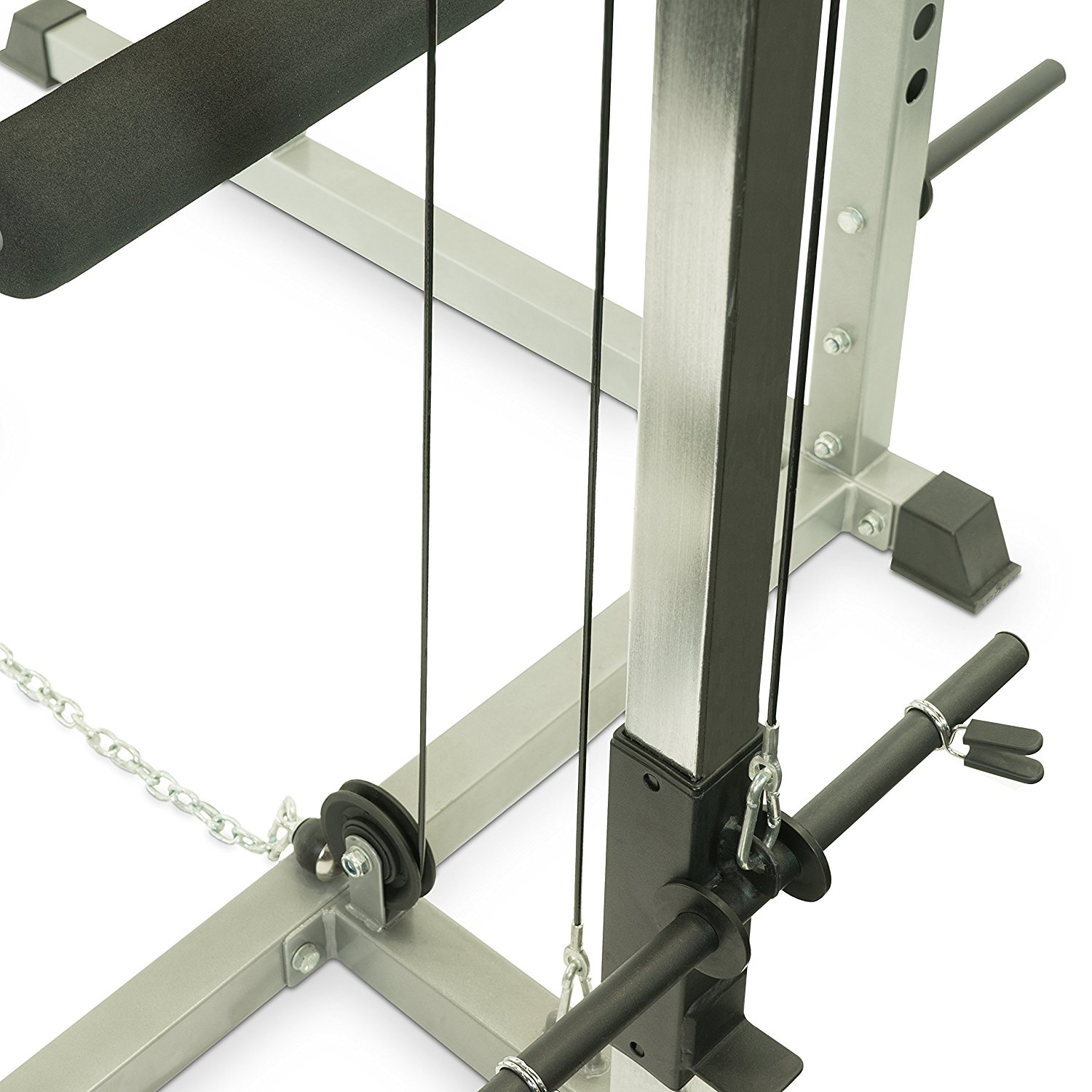 best power rack squat rack with lat pulldown attachment in 2018