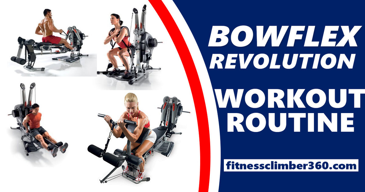 Bowflex Workout Routines Build Muscle - Beginner's Workout